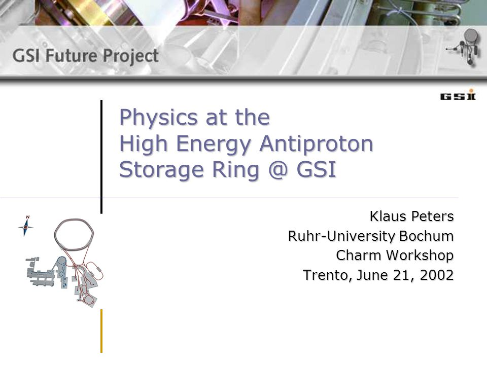 Physics at the High Energy Antiproton Storage Ring @ GSI