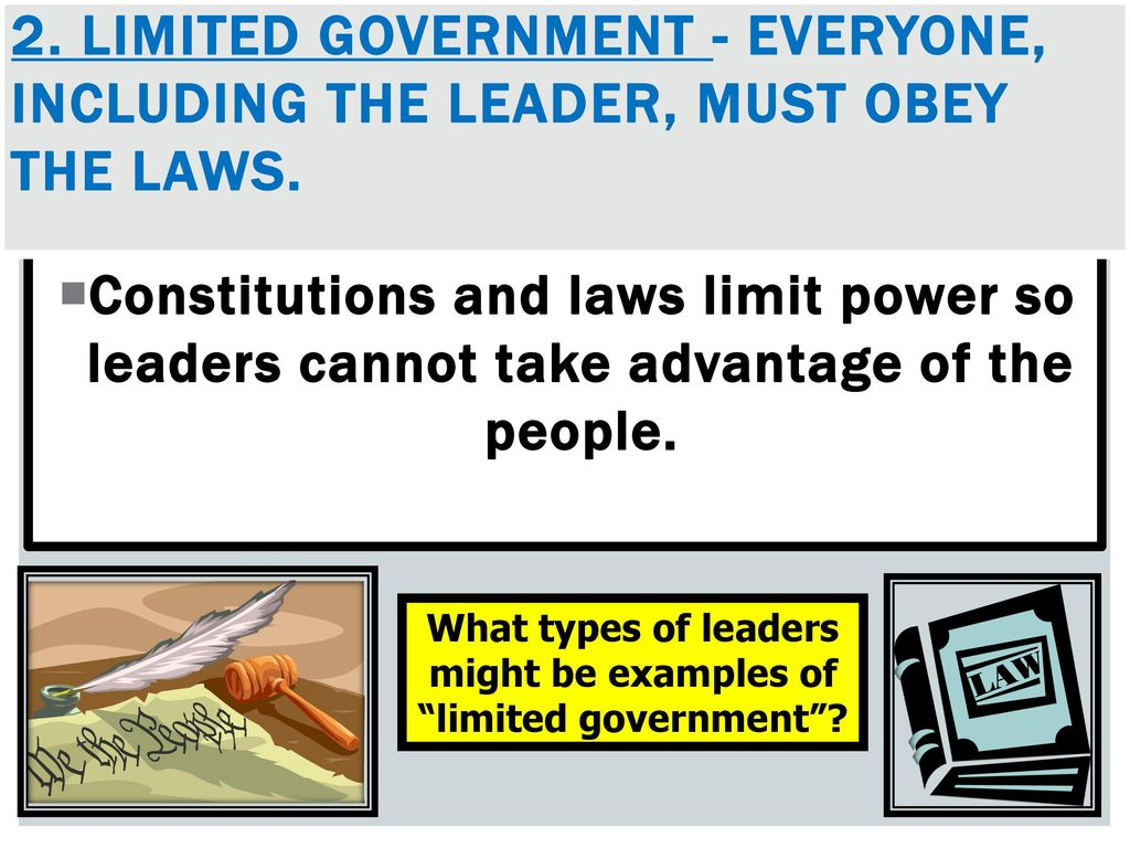 Governments Limited Vs Unlimited Walkabout Activity And Lesson