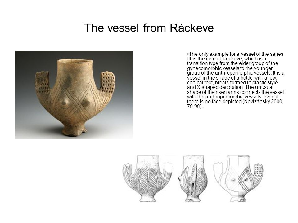 The vessel from Ráckeve