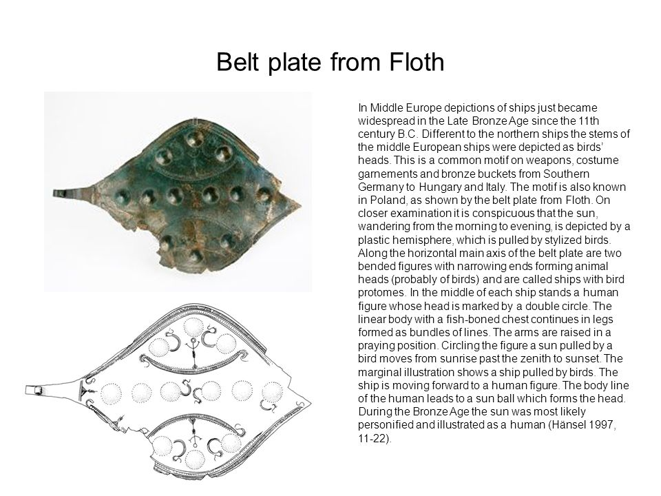 Belt plate from Floth