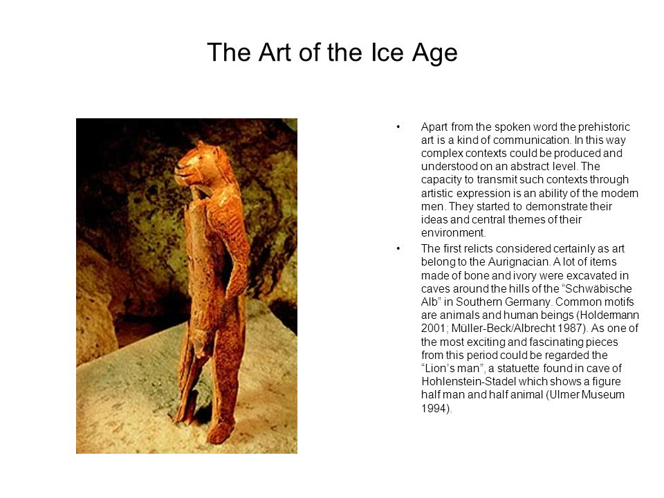 The Art of the Ice Age