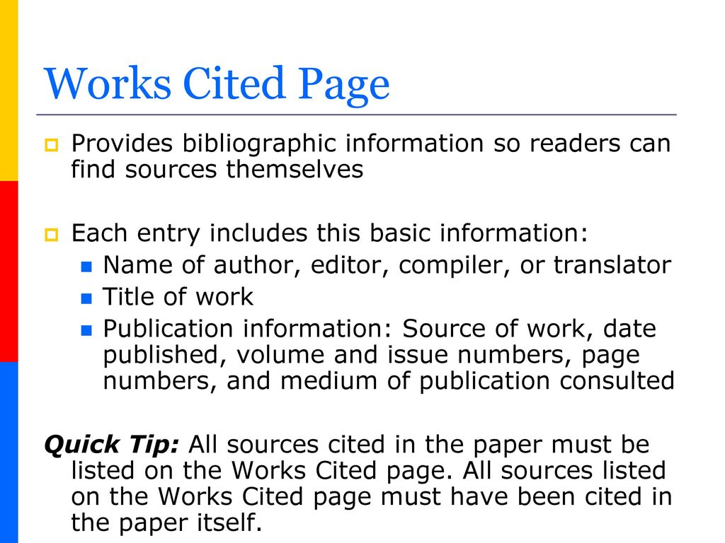 source cited page