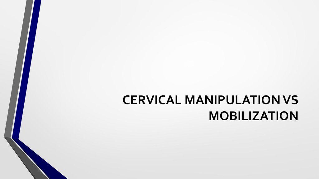 manipuler cervicales 2016