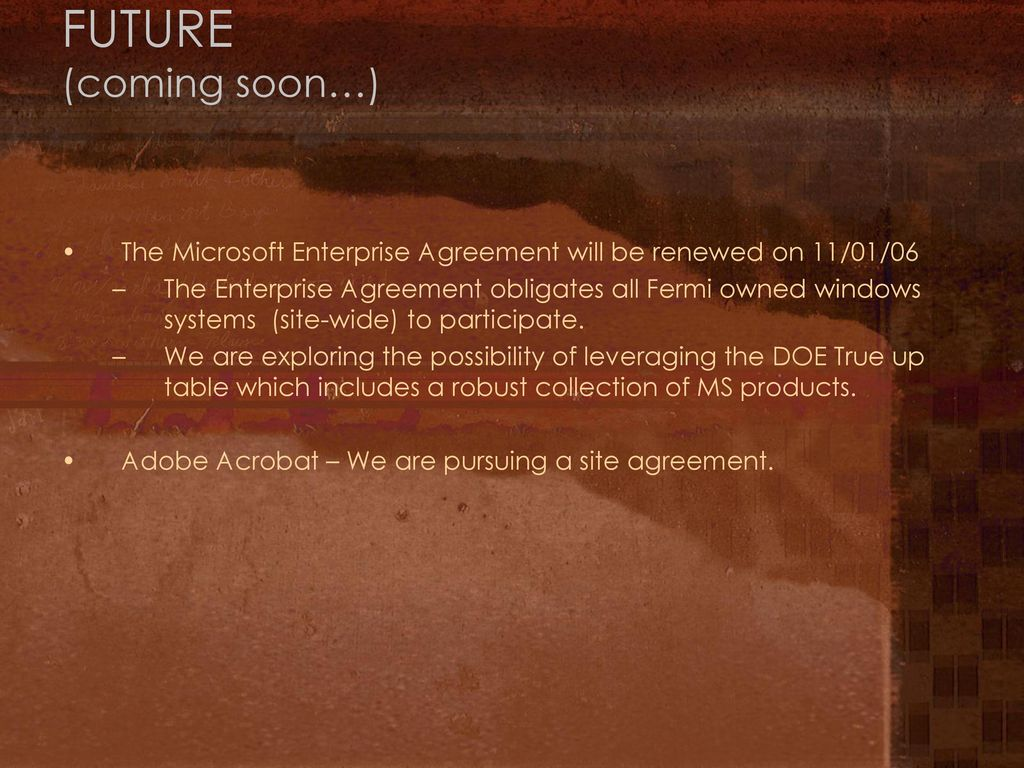 Pc manager meeting april 26 ppt download the microsoft enterprise agreement will be renewed on 11 platinumwayz