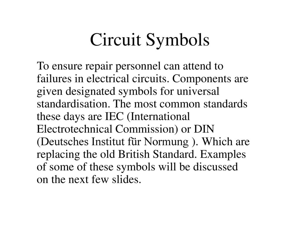 Luxury Circuits Symbols Elaboration - Electrical System Block ...