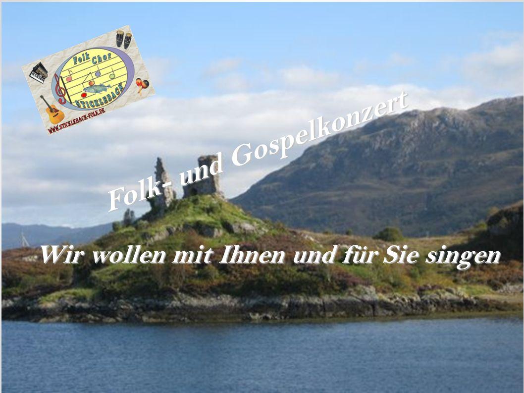Folk- und Gospelkonzert