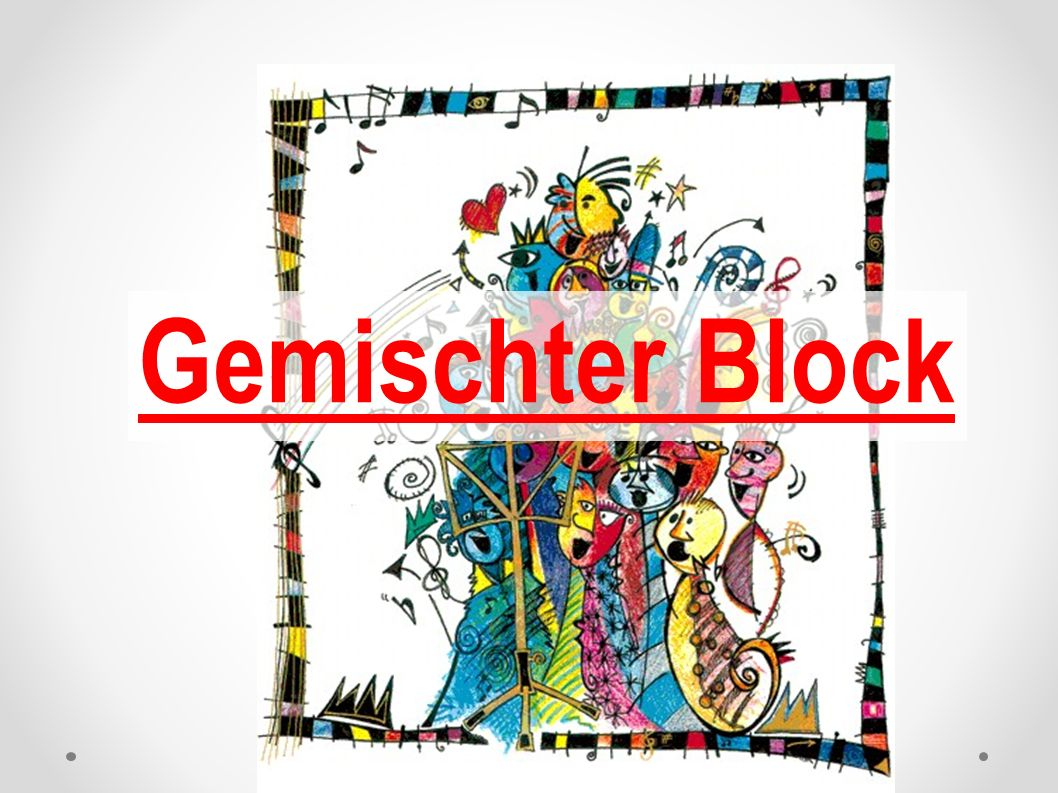 Gemischter Block