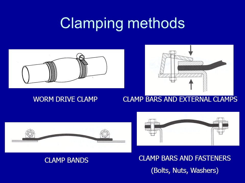 CLAMP BARS AND FASTENERS