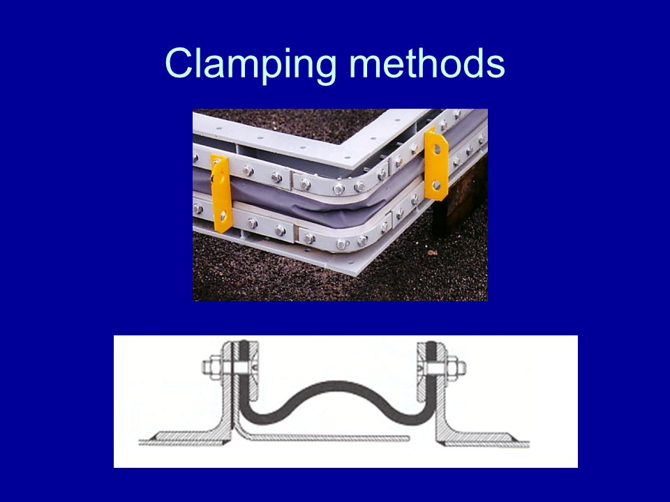 Clamping methods