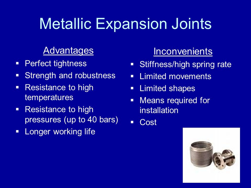 Metallic Expansion Joints