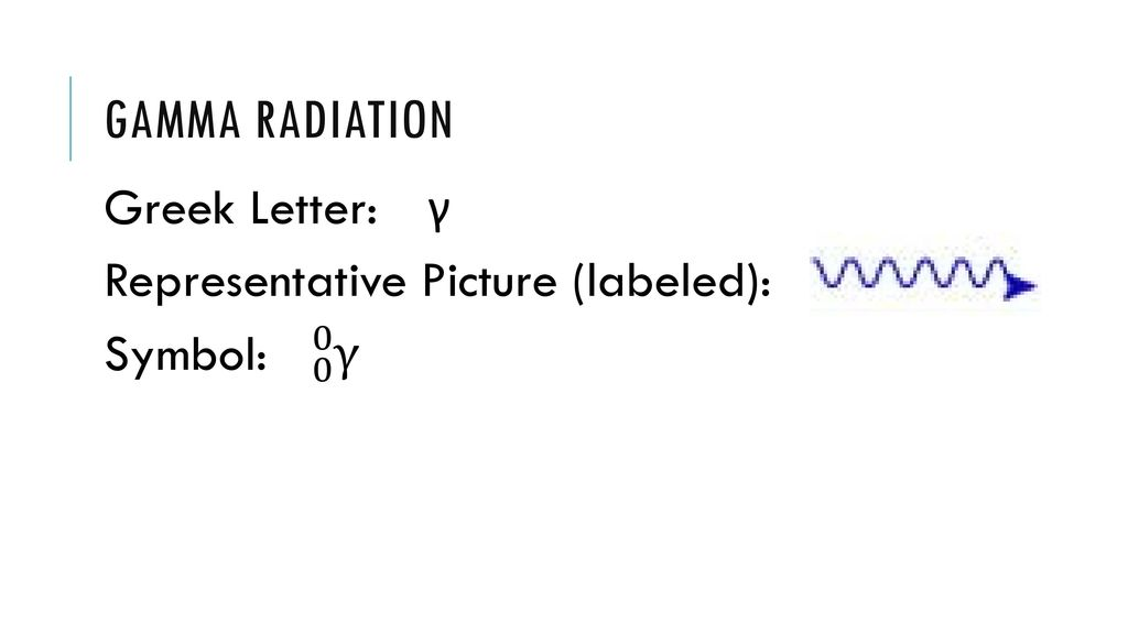 Types Of Radiation Ppt Download
