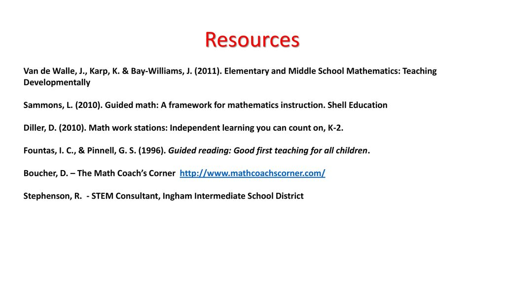 Getting Your Groove on with Guided Math! - ppt download