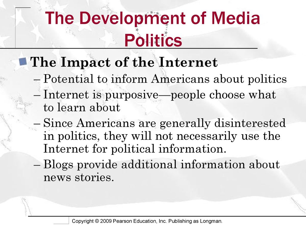 the impact of the internet on politics