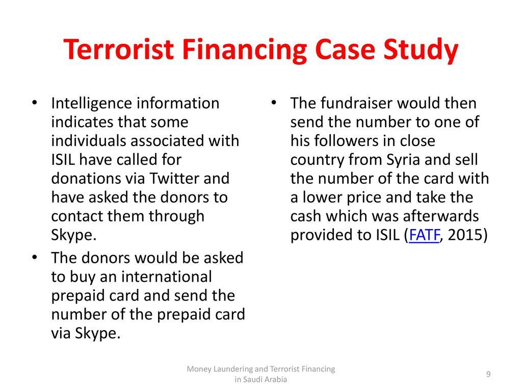 terrorist financing definition