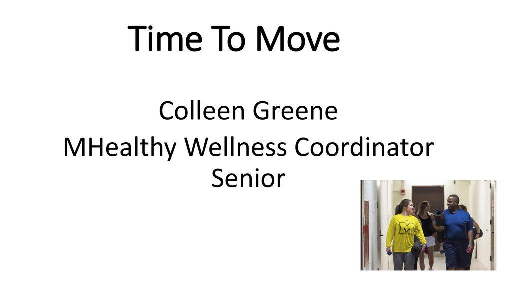 wellness coordinator