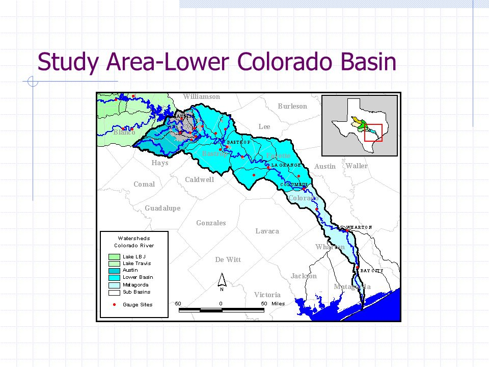 Study Area-Lower Colorado Basin