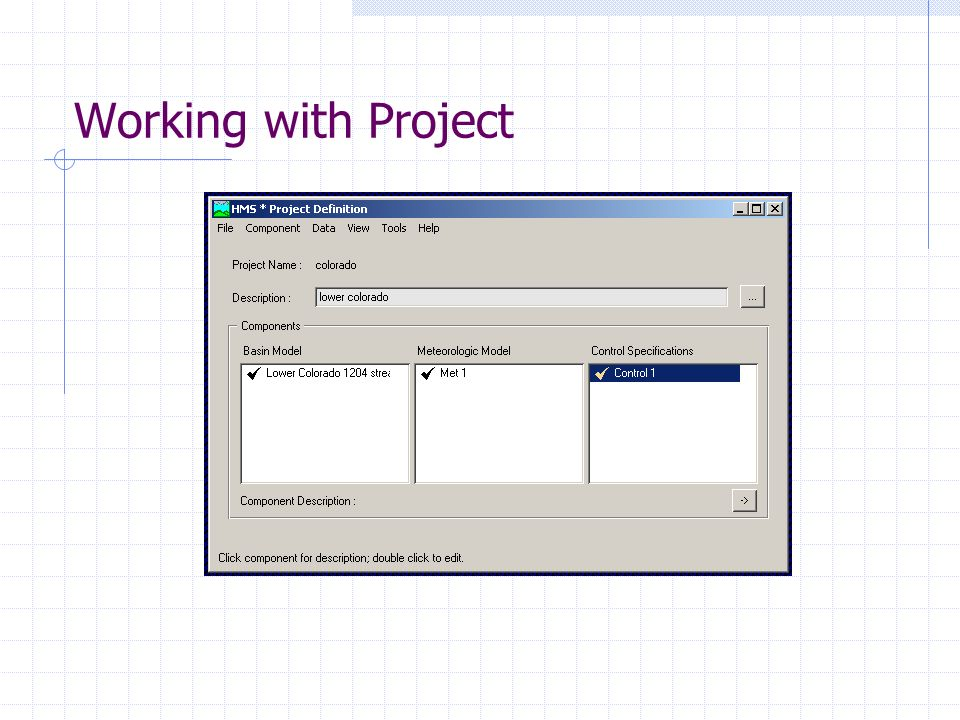 Working with Project