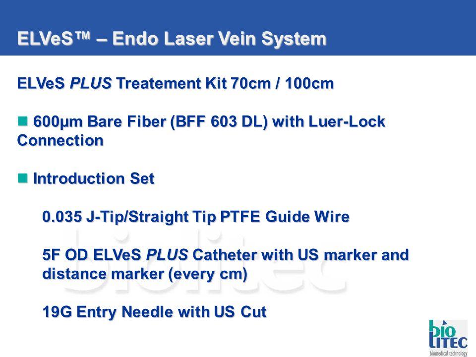 ELVeS™ – Endo Laser Vein System