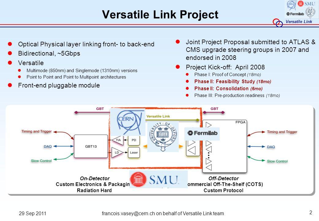 Versatile Link Project