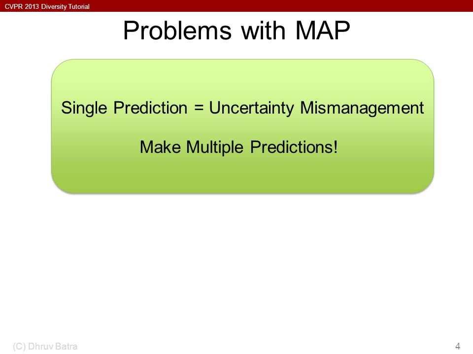 Problems with MAP Model-Class is Wrong!
