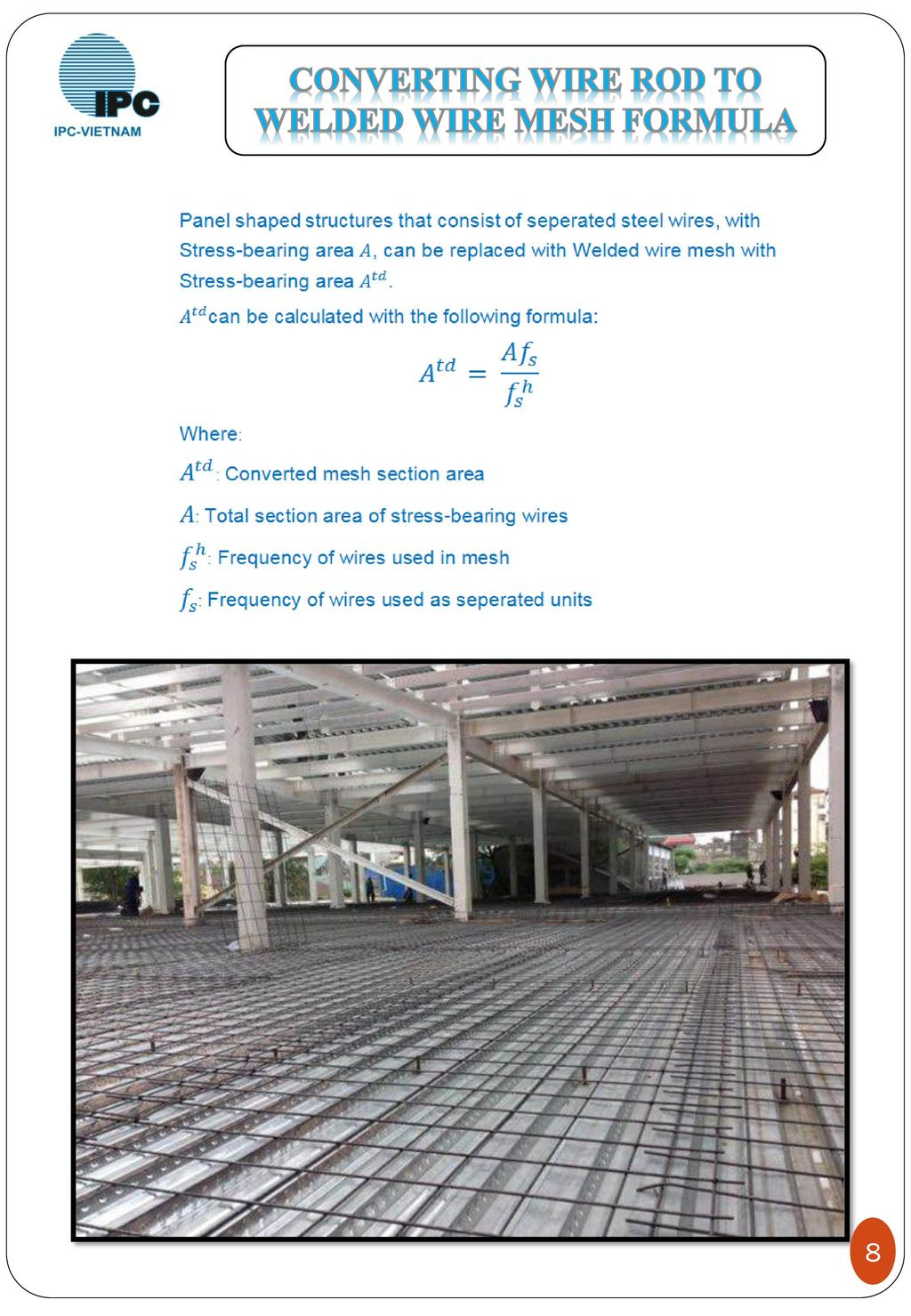 Pretty wire mesh conversion contemporary wiring diagram ideas charming welded wire fabric conversion chart pictures inspiration product profile hotline ppt download keyboard keysfo Image collections