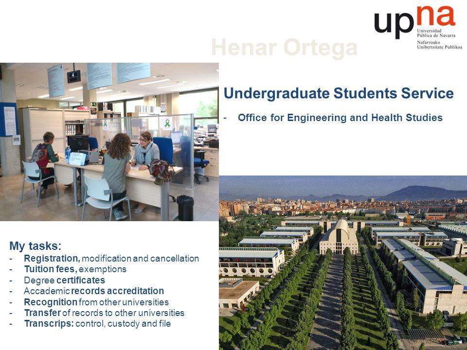 Henar Ortega Public University of Navarre