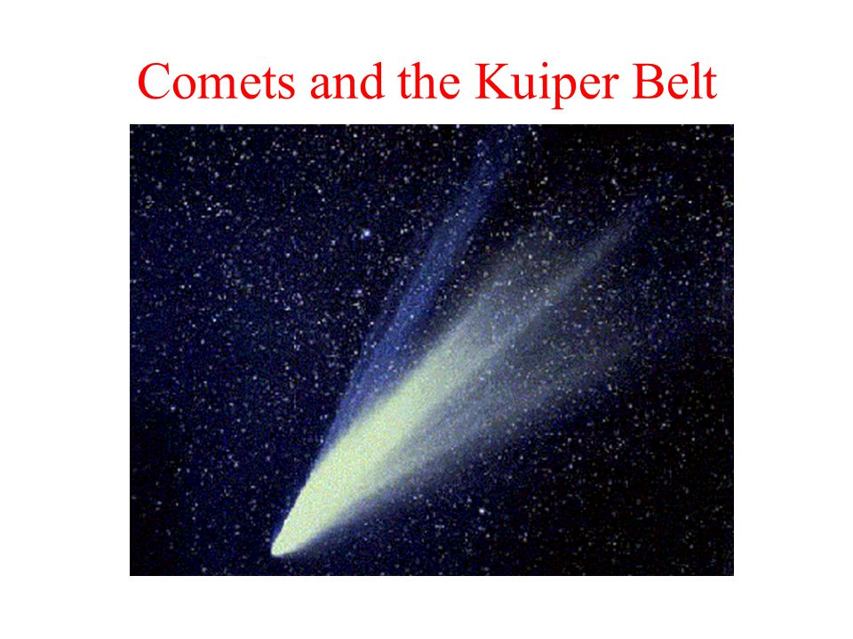 Comets and the Kuiper Belt
