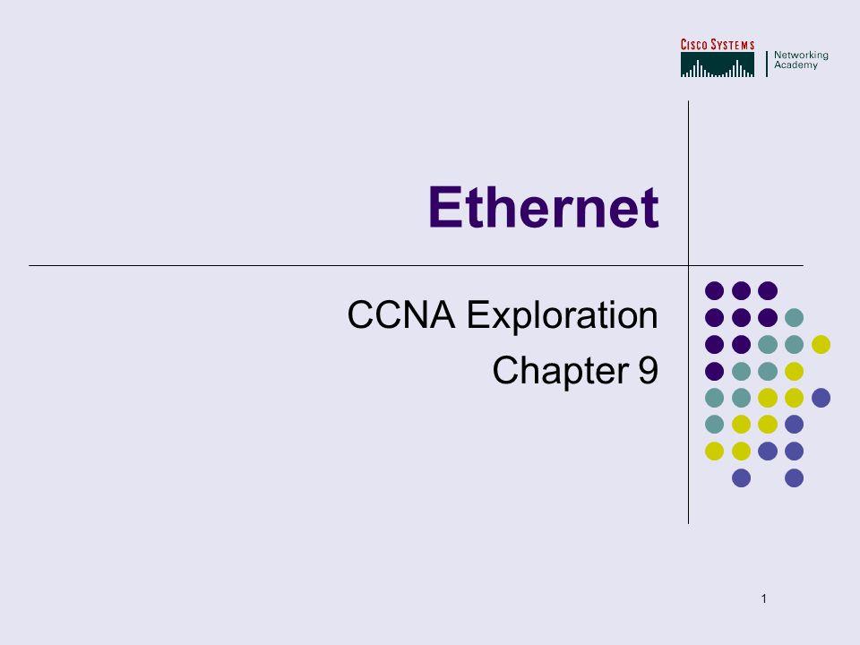 09 Ethernet CCNA Exploration Chapter 9