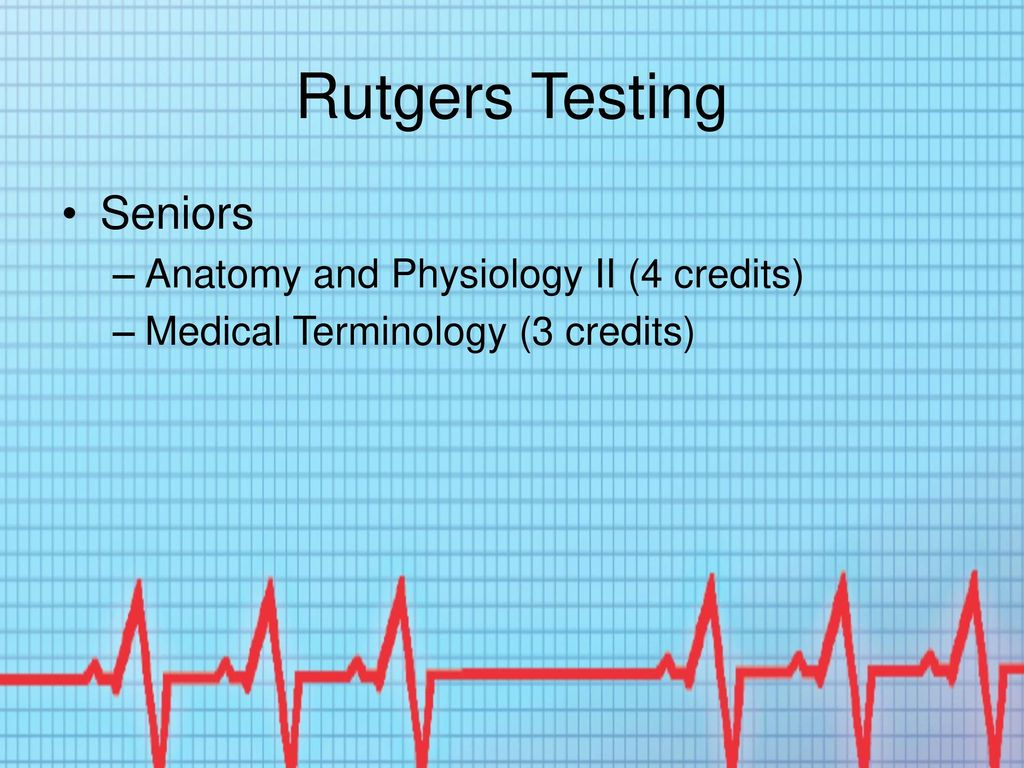 Dorable Rutgers Anatomy And Physiology Crest - Physiology Of Human ...