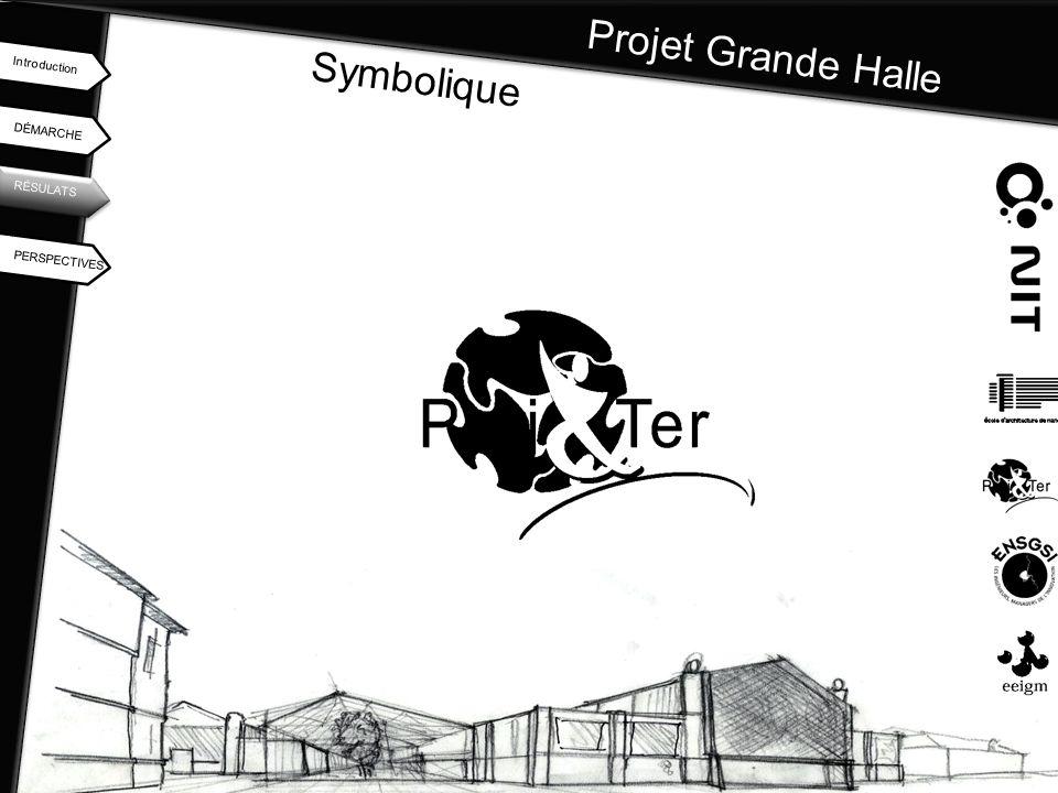 Projet Grande Halle Symbolique Introduction DÉMARCHE RÉSULATS