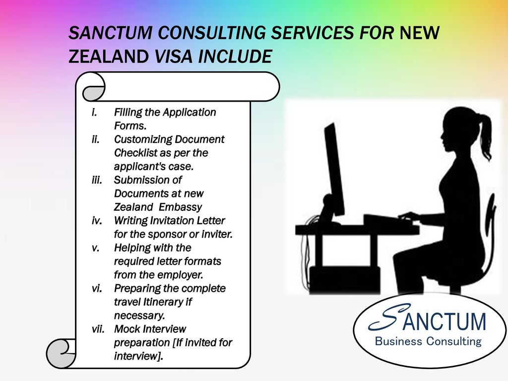 New zealand visitor tourist visa document checklist ppt download sanctum consulting services for new zealand visa include spiritdancerdesigns Image collections