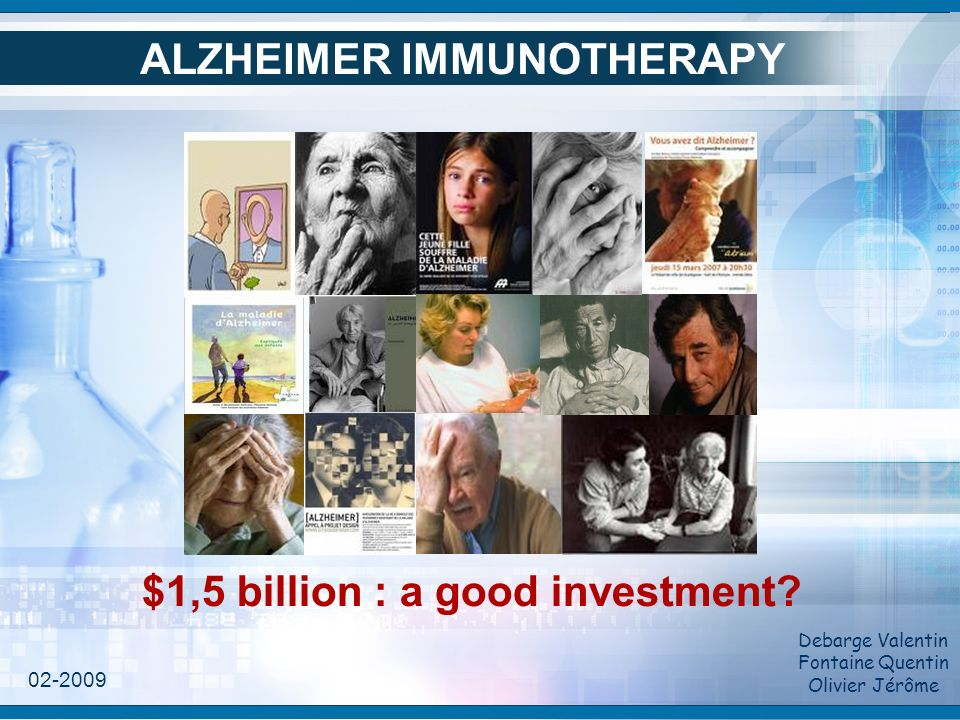 Summary I/ The deal II/ Mechanism of Alzheimer's disease