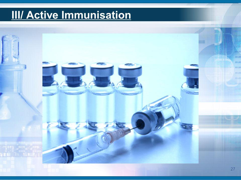 Generalities of immunotherapy