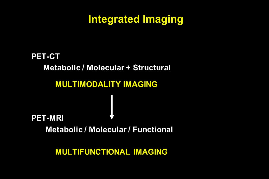 Integrated Imaging PET-CT
