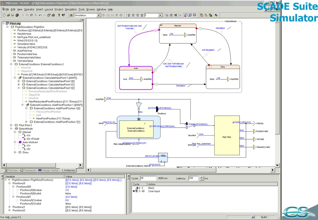 SCADE Suite Simulator