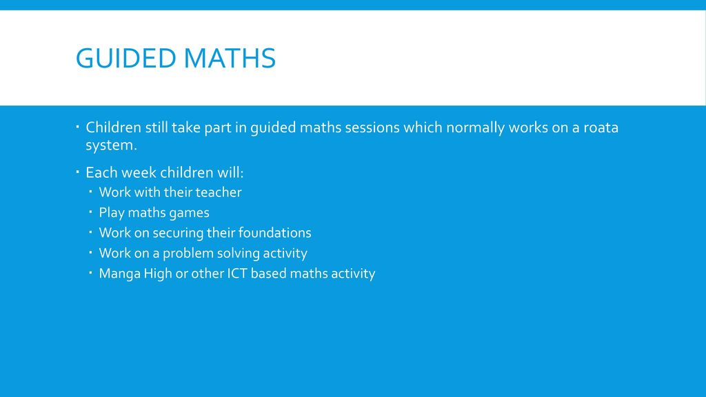 Maths at King William Street - ppt download