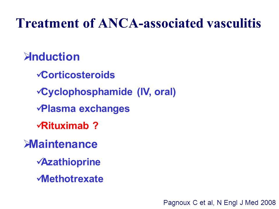 Treatment of ANCA-associated vasculitis