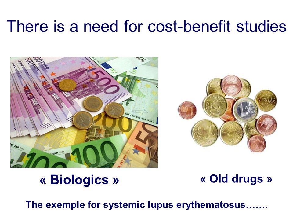 There is a need for cost-benefit studies