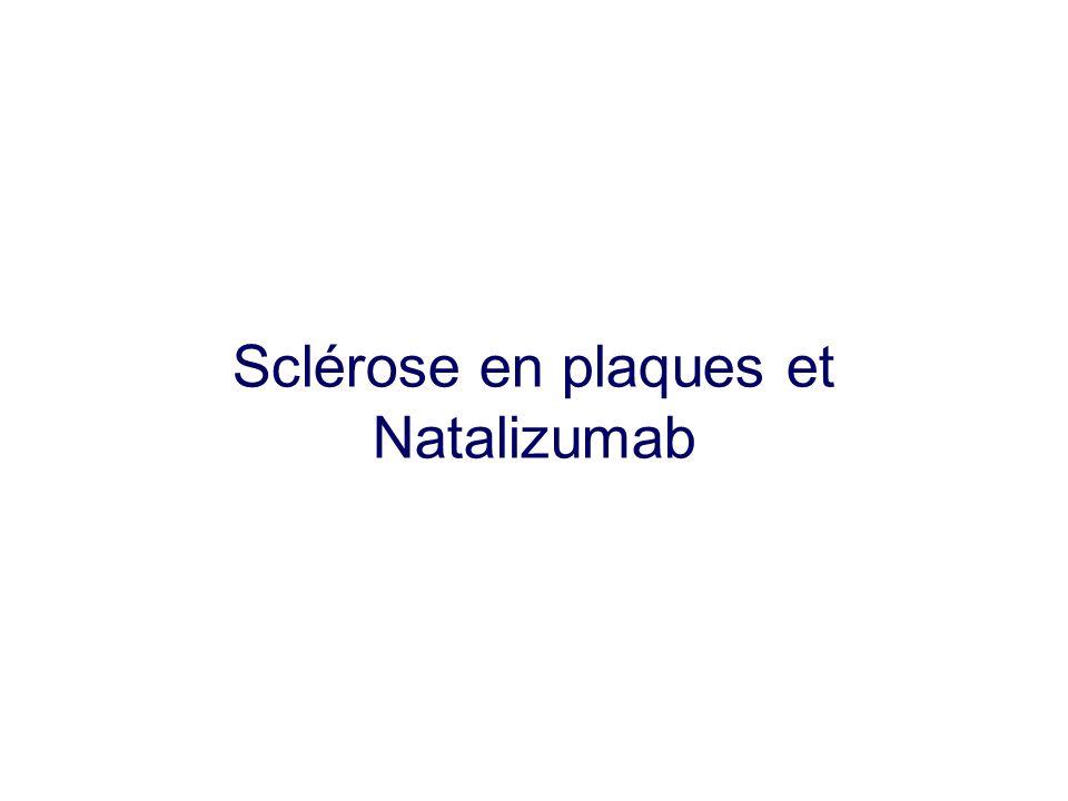 Sclérose en plaques et Natalizumab