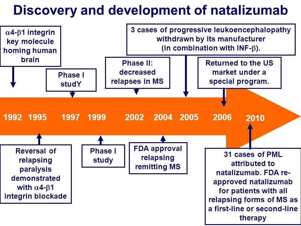 Discovery and development of natalizumab