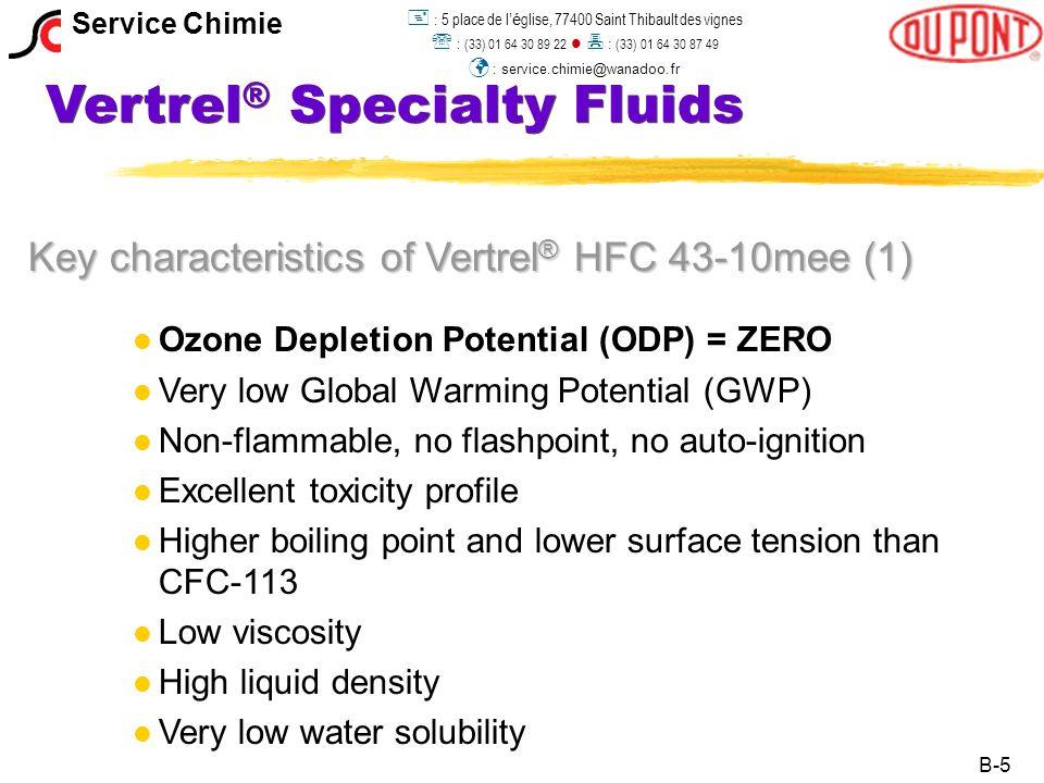 Vertrel® Specialty Fluids