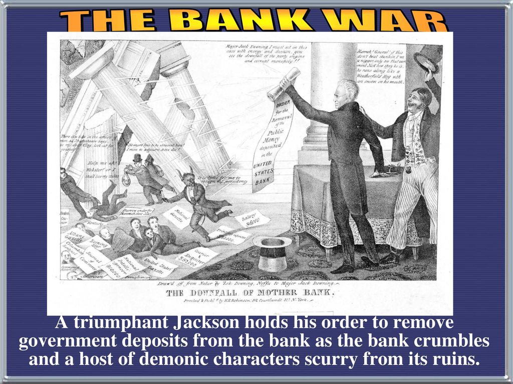 bank war andrew jackson. Modren Andrew Bank War Andrew Jackson The Jackson And Bank War Andrew Jackson