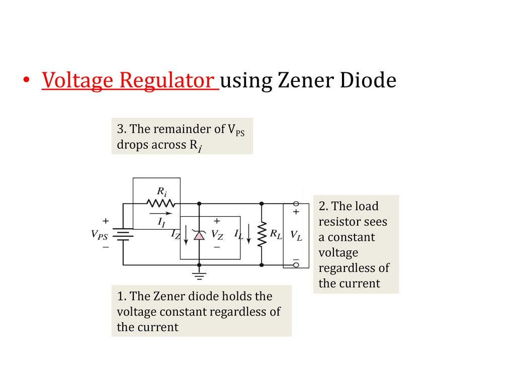 Recall Lecture 6 Zener Effect And Diode Avalanche Ppt Volt Regulator Using Dioda Simple Schematic Diagram 2 Voltage