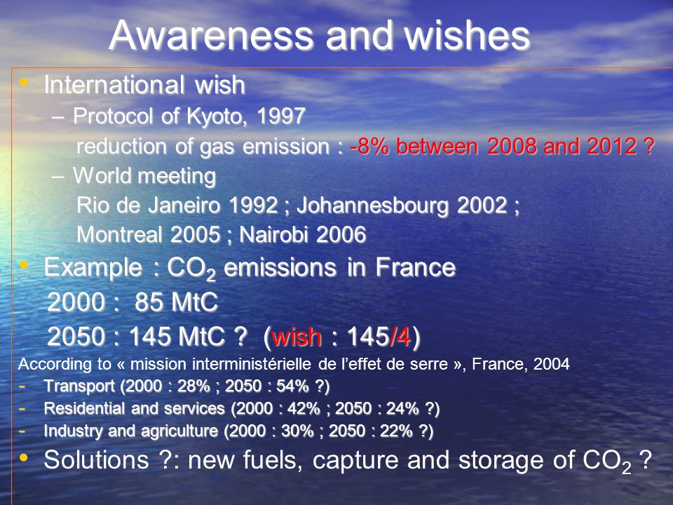 Awareness and wishes International wish
