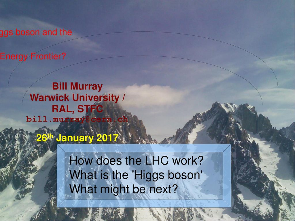 How Does The Lhc Work What Is The Higgs Boson What Might Be Next