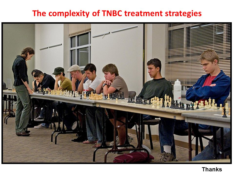 The complexity of TNBC treatment strategies
