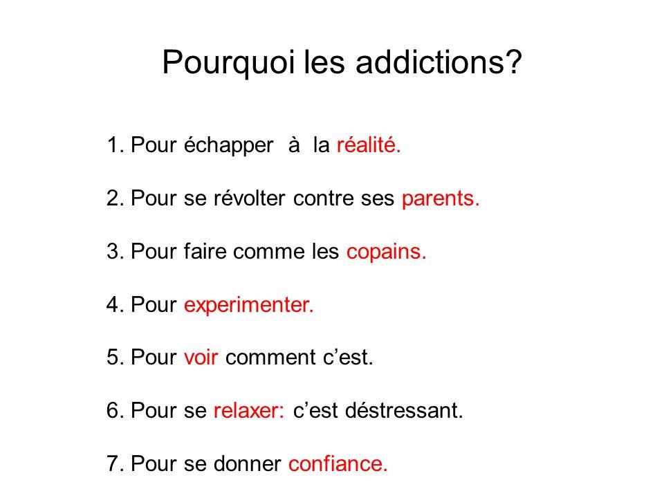 Pourquoi les addictions