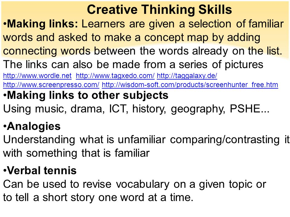 Embedding Thinking Skills in your MFL Lessons