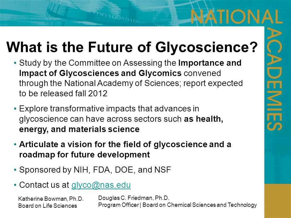 What is the Future of Glycoscience