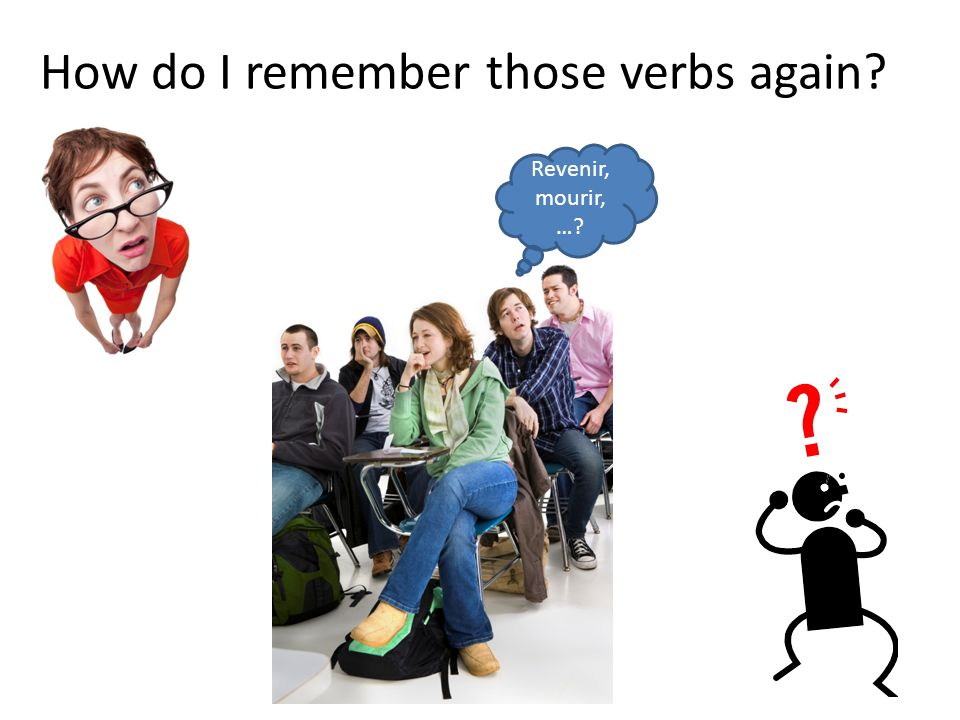 How do I remember those verbs again